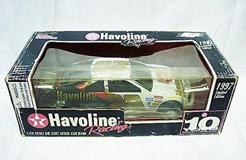 1997 Racing Champions Limited Edition #28 Ernie Irvin 10 Yr. Robert Yates Racing 1:24 Diecast Car Texaco (Robert Yates Racing)
