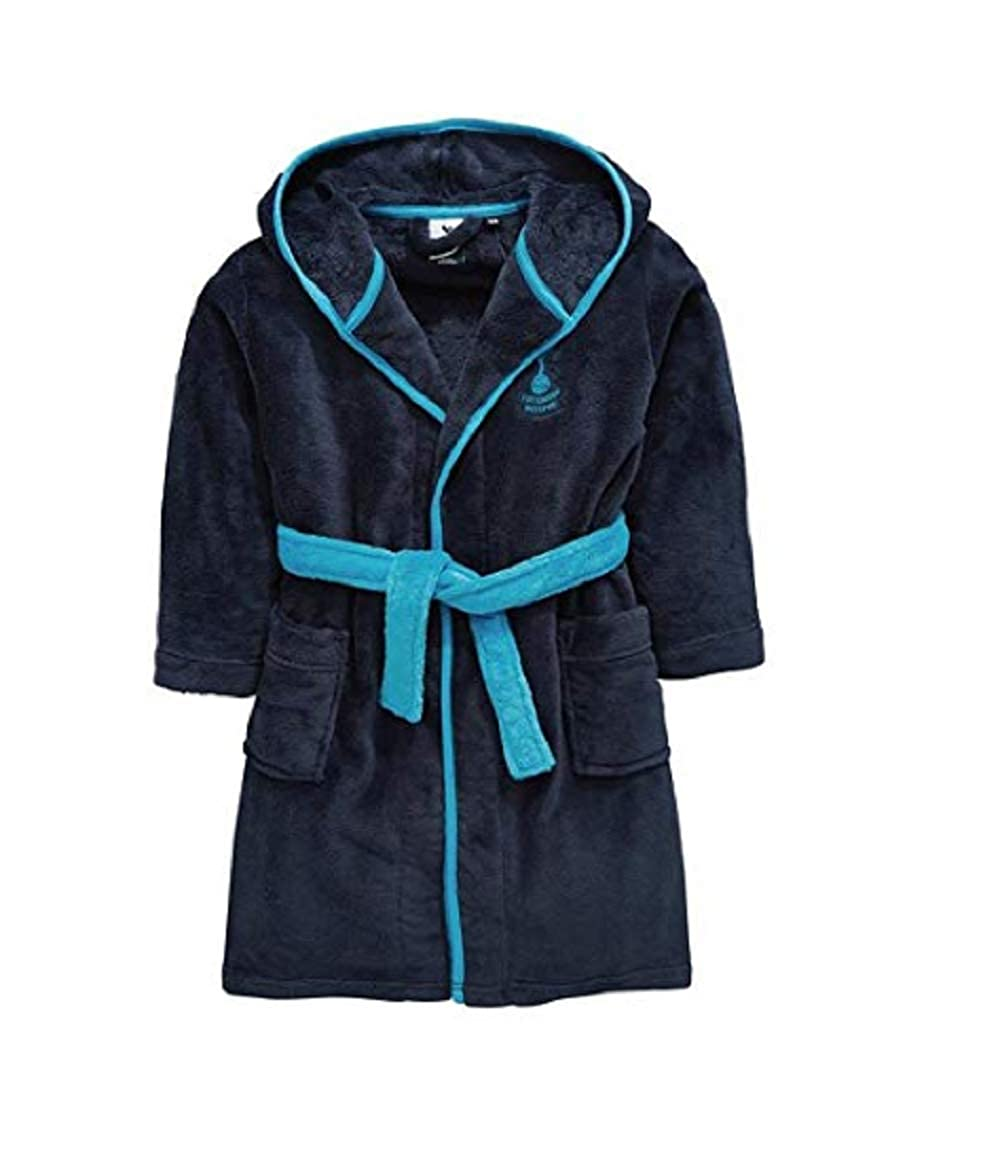 Kids Boys Girls Tottenham Hotspurs Football Dressing Gown Bathrobe Spurs - Sizes 3-12 Years Tottenham Hotspurs FC WH31017