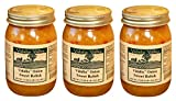Vidalia Valley Onion Sweet Relish with Diced Red Pepper, 17 Oz (Pack of 3) Fat FREE, ALL Natural, NO Preservative,