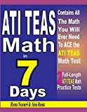 #9: ATI TEAS Math in 7 Days: Step-By-Step Guide to Preparing for the ATI TEAS Math Test