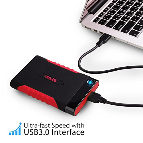 Silicon Power 1TB Rugged Armor A15 Military-grade Shockproof USB 3.0 2.5-inch Portable External Hard Drive for PC, Mac, Xbox One and Xbox 360 by Silicon Power (Image #6)