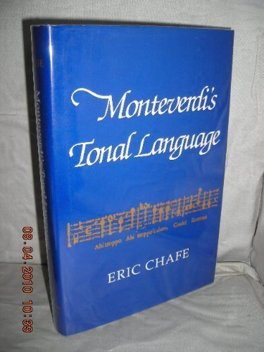 Monteverdi's Tonal Language by Schirmer Reference
