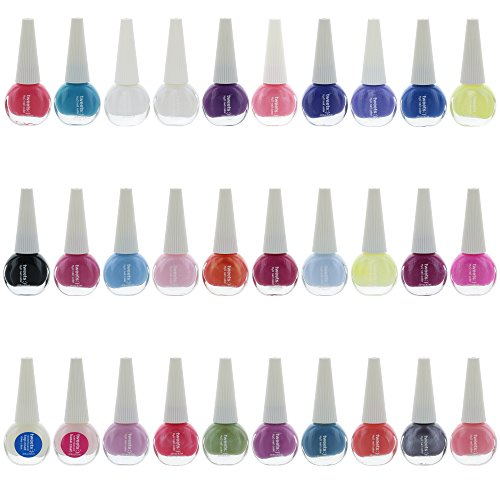 Tweets Finger Nail Polish Color Lacquer Collection Set (30 Piece Set) ()