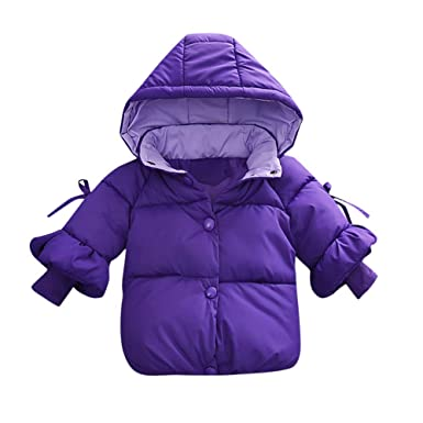 6d3ad879220f Amazon.com  Infant Baby Boys Girls Warm Coat Winter Clothes 0-2 ...