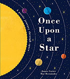 Book Cover: Once Upon a Star: A Poetic Journey Through Space