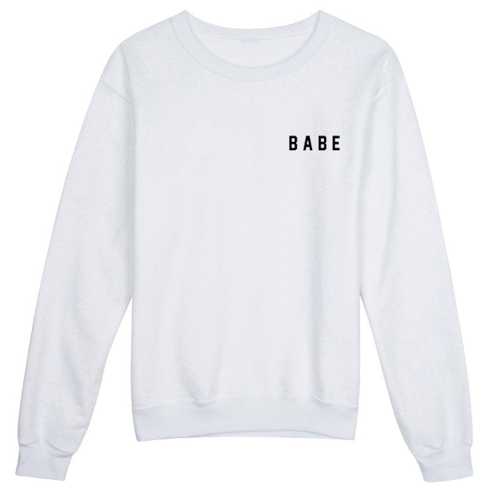 YITAN Women Graphic Cute Sweaters Funny Pullover Teen Girls Sweatshirts 8004502