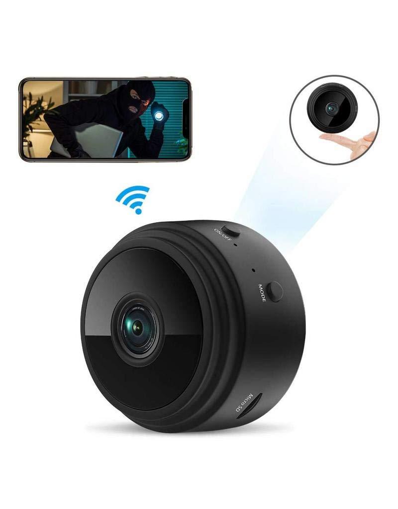 Camara espia wifi ZIMAX es de Las camaras espias ocultas mas vendidas 1080P HD Cámara de Vigilancia Portátil Secreta y Compacta con Detector de ...