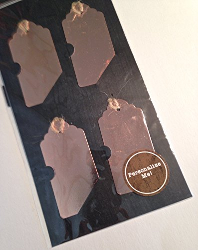Personalize Me Bronze Metal Tags by Horizon Group USA