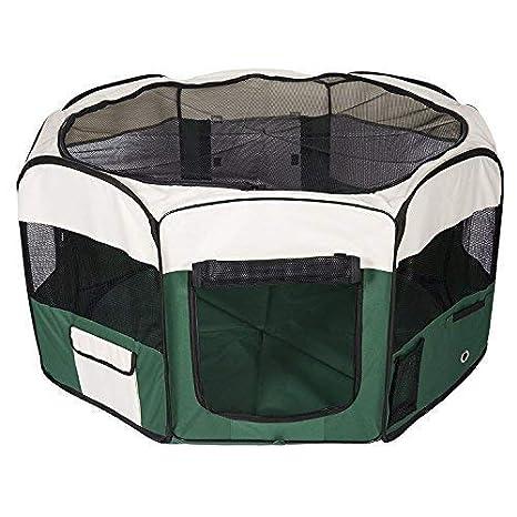 SunbuyHouse - Bolígrafo portátil Plegable de Tela para Mascotas, Perro, Gato, casa, Cachorro, Conejo, Correr, Ejercicio Jaula, Naranja pequeño: Amazon.es: ...