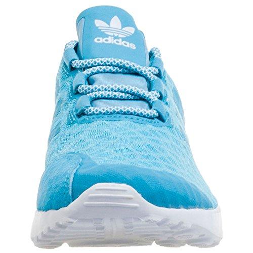 Bleu Verve blanch Sneakers core Sky Basses Flux Sky Femme Adidas blanch White Adv Zx Uwq0Zwvt