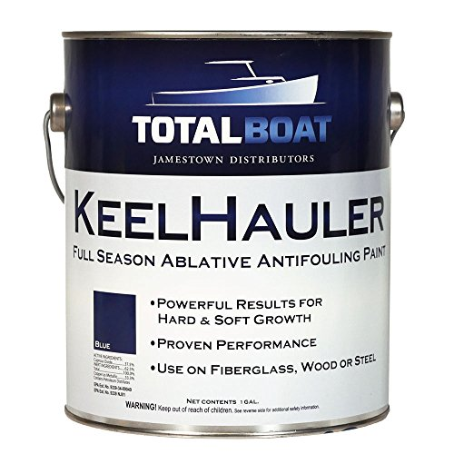 TotalBoat KeelHauler Self-Polishing Marine Bottom Paint (Blue, Gallon)