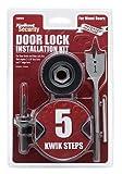 Kwikset 130WD INSTL KIT WOOD DR Wood Door Lock Installation Kit