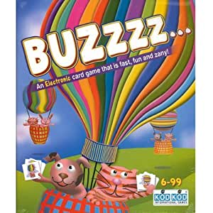 buzzzz electronic family card game by kodkod affordable gift for your little one. Black Bedroom Furniture Sets. Home Design Ideas