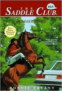 Book Summer Rider (The Saddle Club, Book 68)