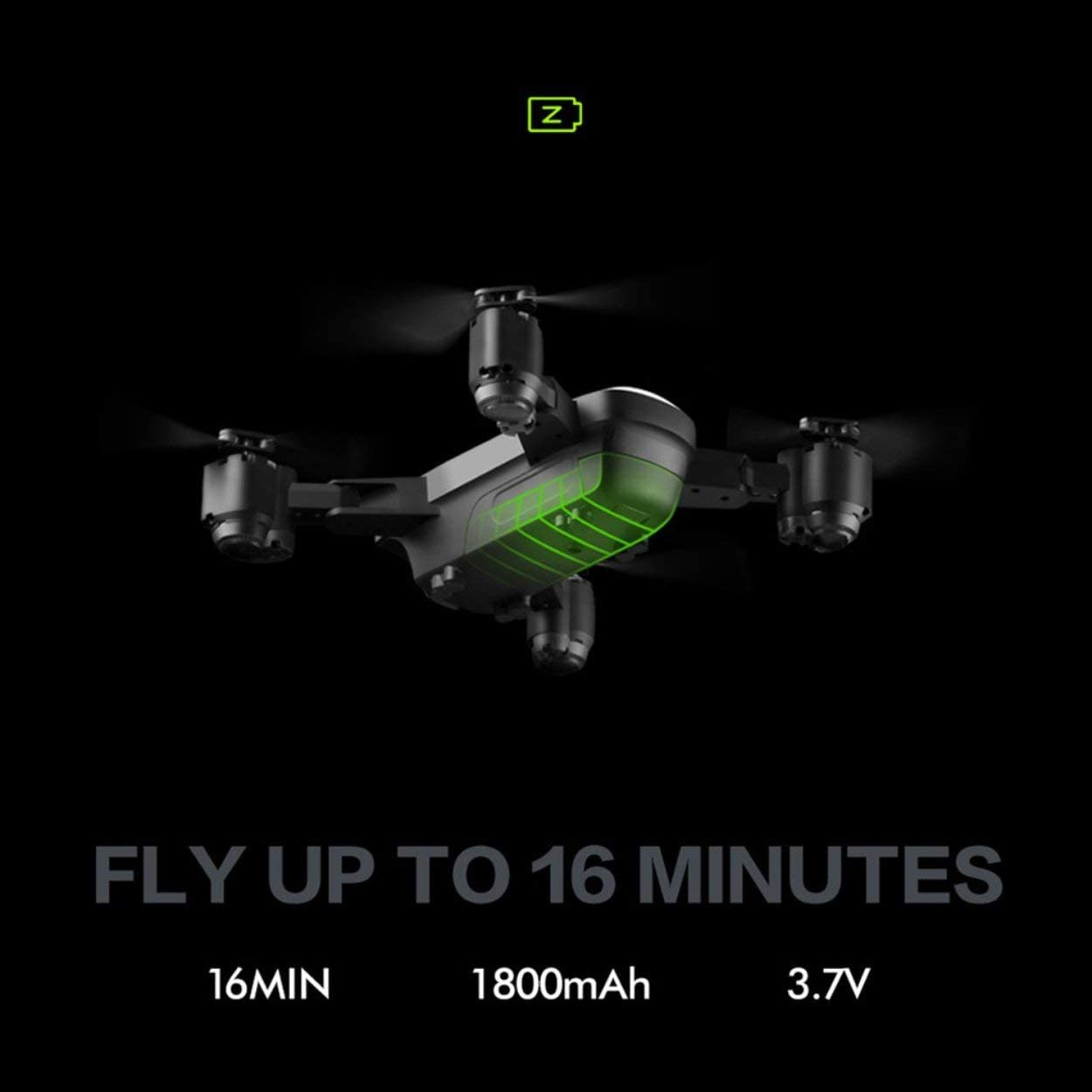 FPV RC Drones with 720HP Camera 2.4GHz WiFi 4CH 6-Axis Gyro Quadcopter 120 Degree Wide Angle and 360 Degree Flips Headless One Key Return Folding RC Helicopter Portable RC Model.