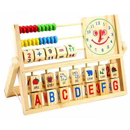 Baby learning and educational wooden multi-function blocks bead - Jordan Shoe Rake