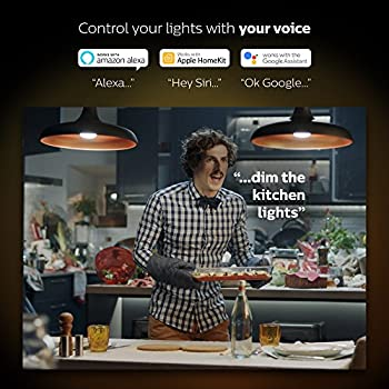 Philips Hue 2-pack White Ambiance Br30 60w Equivalent Dimmable Led Smart Flood Light (Works With Alexa Apple & Google Assistant) 10