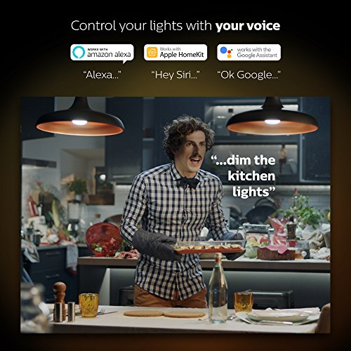 Philips Hue White and Color Ambiance PAR16 Dimmable LED Smart Spot Light (Works with Alexa Apple HomeKit and Google Assistant) by Philips (Image #4)