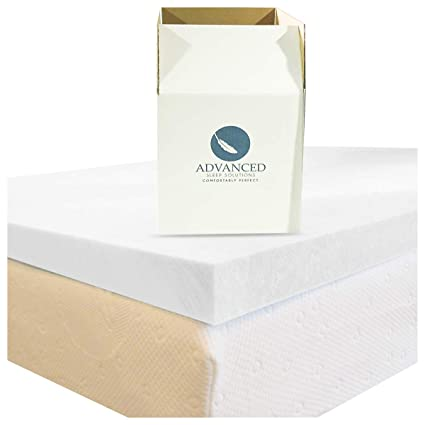 Amazoncom California King Memory Foam Mattress Topper Usa Made