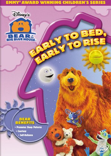 Bear in the Big Blue House - Early to Bed, Early to (Dutch Bear)