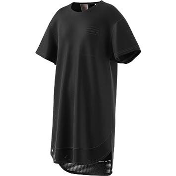 Adidas Yg ID Vestido de Tenis, Niñas, Negro/Blanco, 164
