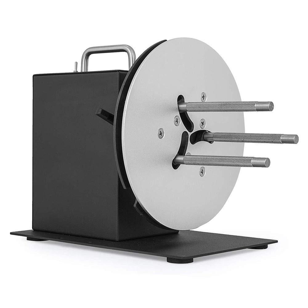 Label Tags Rewinder Rewinding Machine automatico Lavvolgitore delletichetta del centro di 1-3MM di 180MM sincronizza con la stampante R7