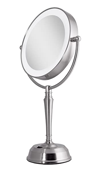 Amazon zadro lurv410 led lighted vanity mirror with zadro lurv410 led lighted vanity mirror with rechargeable battery usb port aloadofball Image collections