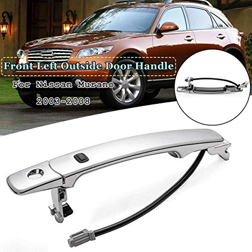 - Star-Trade-Inc - 1Pc Front Left/Right Outside Door Handle Smart Entry For Nissan Murano 2003 2004 2005 2008 80640-CB01A