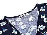 MSBASIC Vintage Dress for Women, Junior V Neck