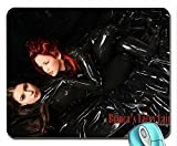People bianca beauchamp latex catsuit tanks fishnet 1600x1063 wallpaper mouse pad computer mousepad