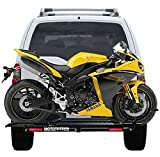 MOTOTOTE MOTO TOTE SPORT BIKE MOTORCYCLE CARRIER HITCH RACK RAMP LED LIGHT Review