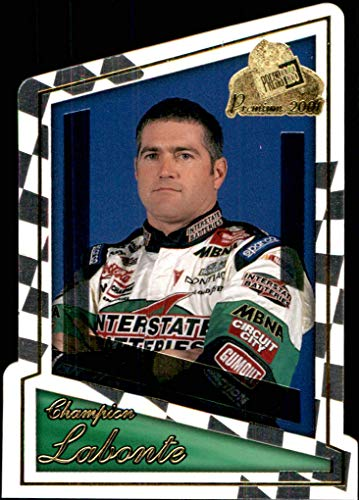 2001 NASCAR Press Pass Premium #54 Bobby Labonte