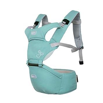 Kuuboo respirant Porte-bébé Hipseat 4 manières de transport avec assise  amovible, Baby Carrier cac8a8e285e