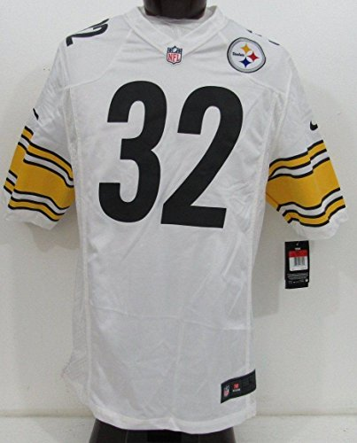 Franco Harris Pittsburgh Steelers Unsigned White Nike Jersey NWT Size L 135600 - Unsigned NFL Game Used Jerseys