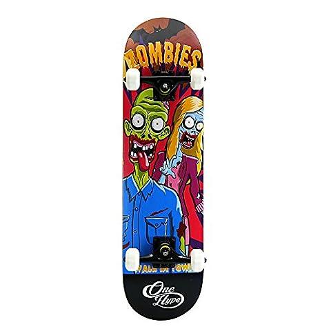 OneHype - Pro Complete Skateboard Snacktime-Z, 31