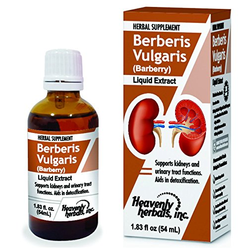 Treat Kidney Stones (Stones dissolver - Berberis Vulgaris Drops - Supports Kidneys & Urinary Tract Functions | Aids in Detoxification | Natural Herbal Supplement - Highest Quality - 1.83 fl oz by Heavenly Herbals, Inc.)