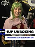 CONtv Insider: Stan Lee's LA Comic Con 2016 - Unboxing the 1UP Box