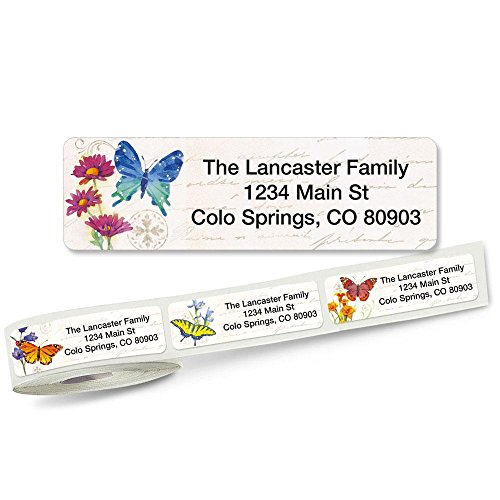 ers Rolled Address Labels (5 Designs) Roll of 250 (5 Designs Rolled Address Labels)