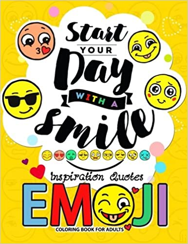 Amazon.com: Emoji Coloring Book for Adults: A Positive ...