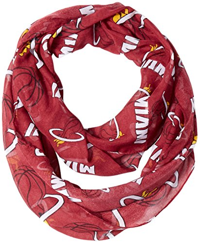 Miami Heat 2016 Team Logo Infinity Scarf -