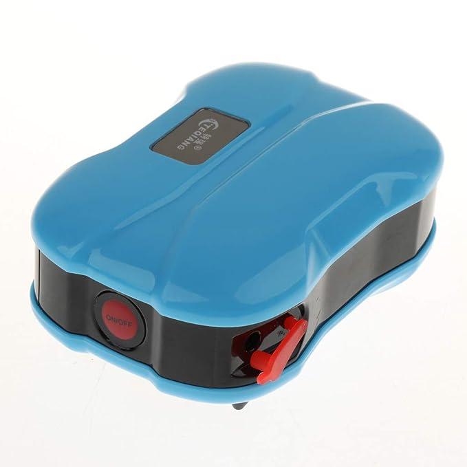 FLAMEER Bomba de Oxígeno USB Tanque de Peces Acuario Silencioso Recarga: Amazon.es: Electrónica