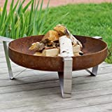 Curonian Agila Solid Steel Wood Burning Fire Pit Review