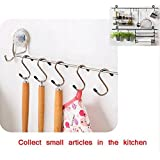 "Zollyss 10 Pcs/Lot Powerful ""S"" Shape Type Stainless Steel Storage Hanger Hooks Organizer"
