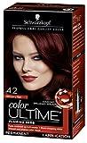 Schwarzkopf Color Ultime Permanent Hair Color Cream, 4.2 Mahogany Red