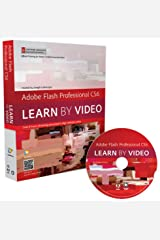 Adobe Flash Professional CS6: Learn by Video: Core Training in Rich Media Communication Paperback