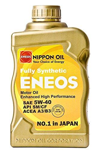 Gear Fully Oil Synthetic (ENEOS 5w-40 QT Fully Synthetic Motor Oil - 1 Quart Bottle)