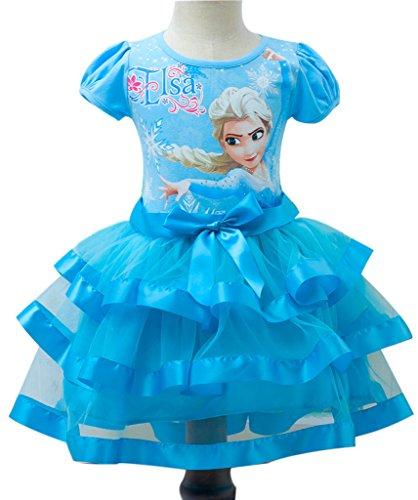 elsa tutu dress - 4