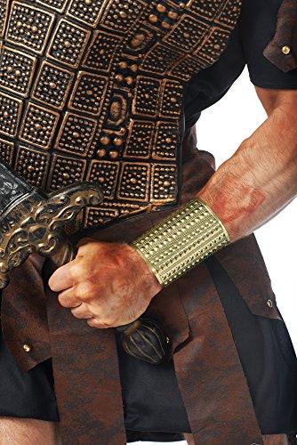 Roman Stud Adult Costumes - Costume Culture Men's Gladiator Stud Wrist