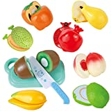 Liberty Imports Kitchen Set Fun Cutting Fruits Super Food Playset for Kids