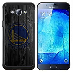 BearCase / Cubierta de protección Caso duro de la contraportada de Shell Plástico /// Samsung Galaxy A8 ( A8000 ) /// Warriors de Golden Equipo deportivo